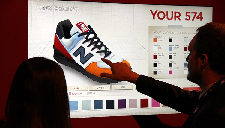 Excite 2014 - touchscreen shoes