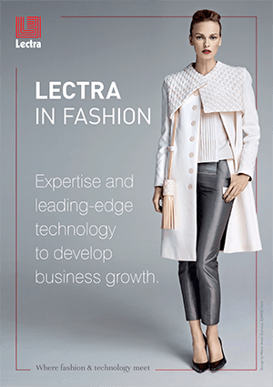 Lectra fashion brochure cover
