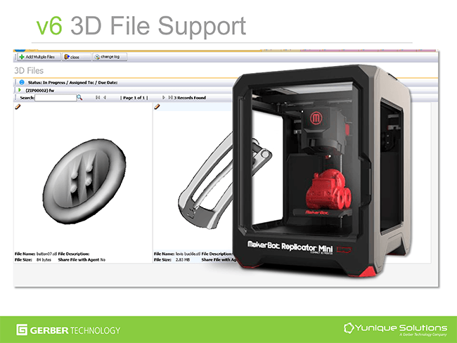 3D Support