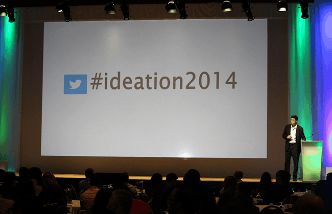 Ideation hashtag
