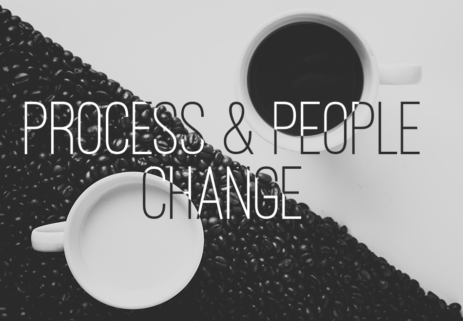 Process & People Change Header