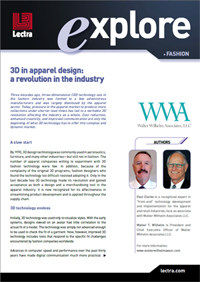 Download Lectra's whitepaper on 3D In Apparel Design