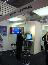 Andrew Dalziel at the Lawson Stand
