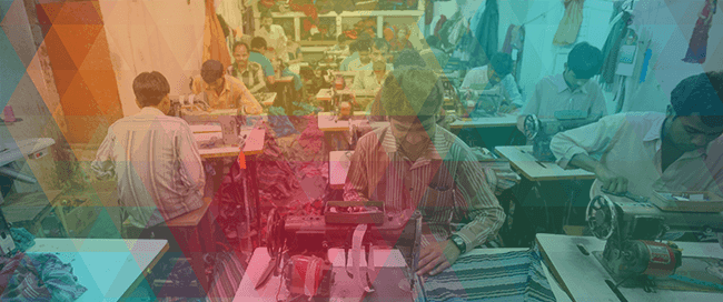 Garment factory abstracted single