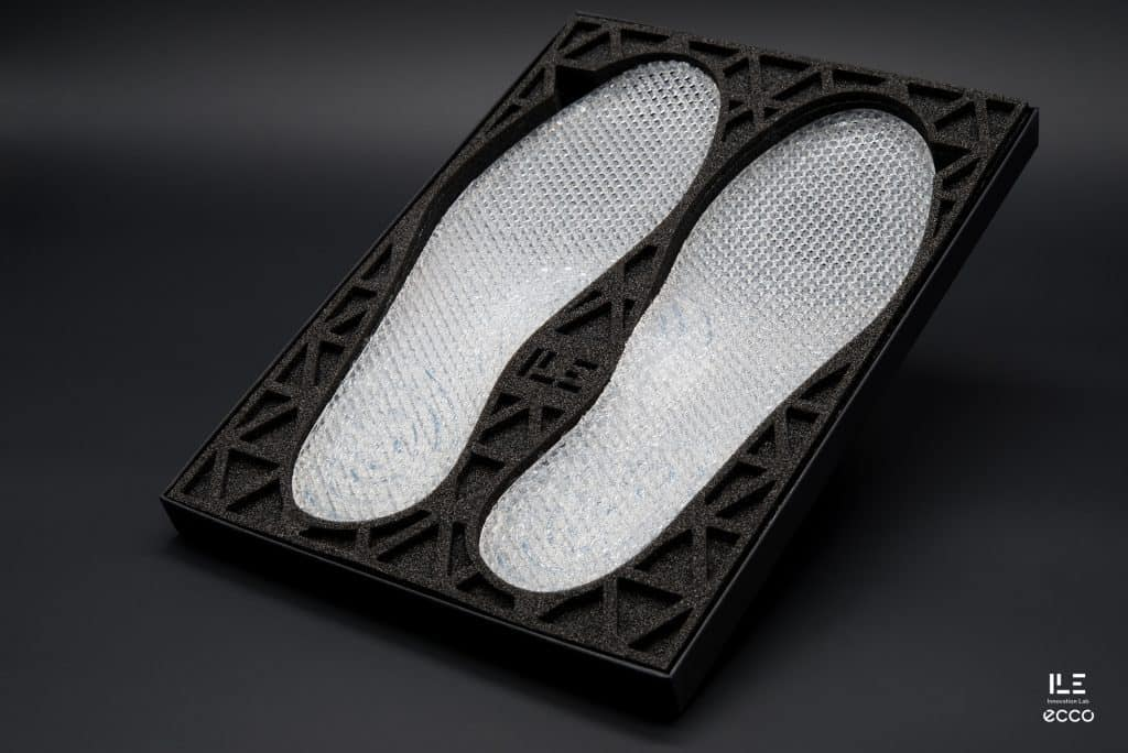 ECCO Shoes has just introduced its experimental augmented footwear project 888b2ac853476